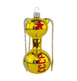 Sputnik Glass Ornament