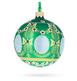 Imperial Holiday Glass Ornament (Green)