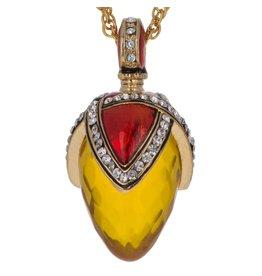 """Fabergé Egg Necklace """"Royal Gold"""""""