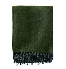 Shimmer Bottle Green Eco Woven Throw Blanket