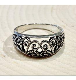 Vintage Kazakovo Filigree Ring