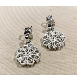 Fabergé Snowflake Earrings