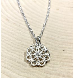 Imperial Snowflake Necklace