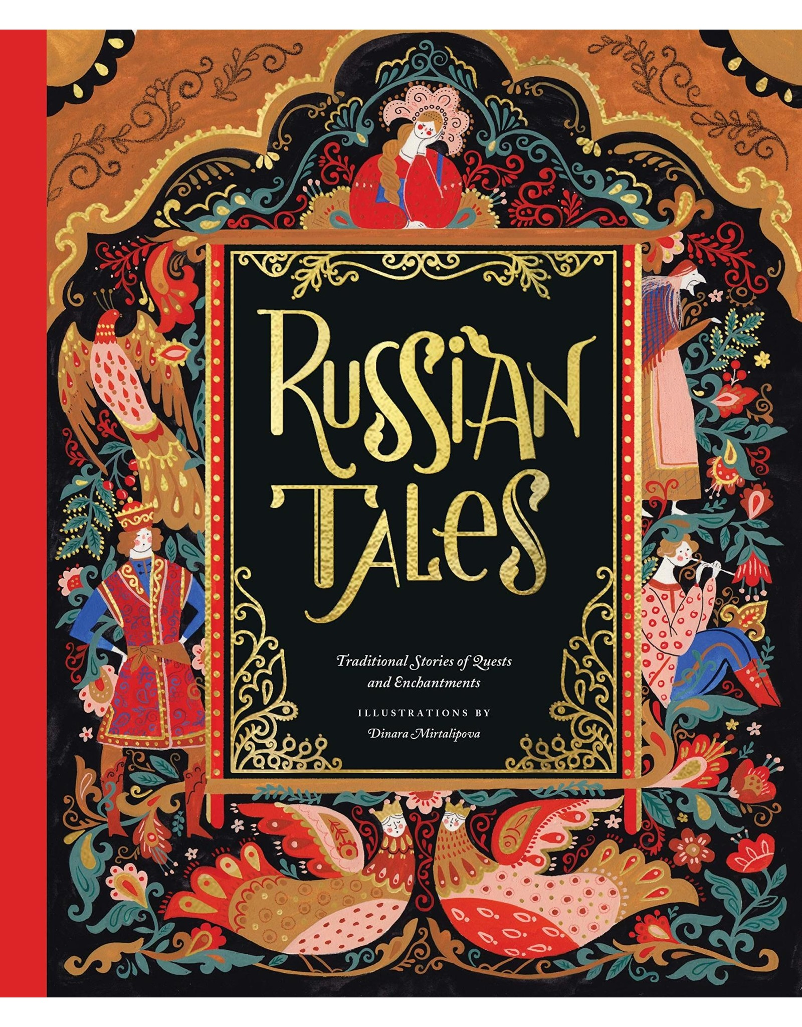 Russian Tales: Traditional Stories of Quests and Enchantments