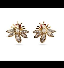 Fabergé Jeweled Bee Earrings