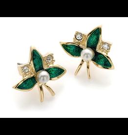 """Fabergé """"Emerald Blossom"""" Earrings"""