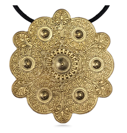 Antique Slavic Folk Medallion
