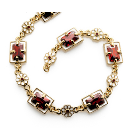 "Fabergé ""Imperial Poppy"" Necklace"
