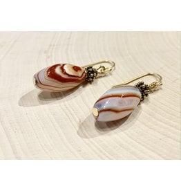 Superior Agate Earrings