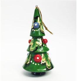 Hand-Carved Christmas Tree Ornament