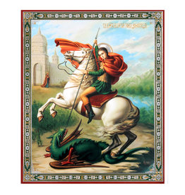 St. George Slaying the Dragon (Icon)
