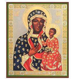 Virgin of Czestochova Icon