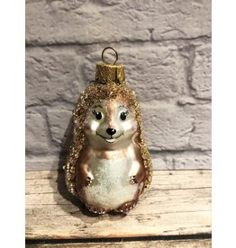 Artisanal Glass Hedgehog Ornament