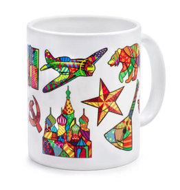 Russian Motifs Mug