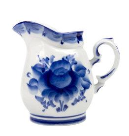 """Gzhel """"Blue Flower"""" Creamer"""