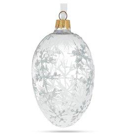 Glass Fabergé Egg Ornament (1913 Royal Winter)