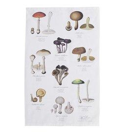 Mushrooms Organic Tea Towel