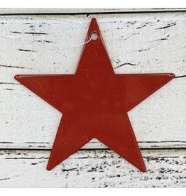 "Metal ""Red Star"" Ornament"