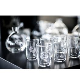 Reindeer Juice Glass Votive Holder