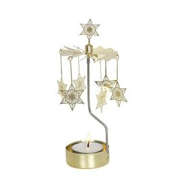Art Deco Star Rotary Candle Holder