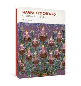 Christmas Candles Boxed Cards Marfa Tymchenko
