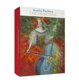 "Anelia Pavlova ""The Musicians"" Boxed Notecards"