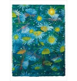 "Robert Zakanitch ""Night Bloomings"" Notecard"
