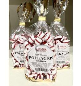 Polkagris Peppermint Candies