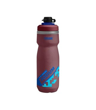 CAMELBAK CAMELBAK PODIUM DIRT SERIES CHILL 21OZ BURGUNDY/BLUE