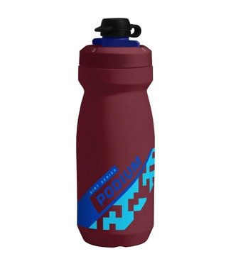 CAMELBAK CAMELBAK PODIUM DIRT SERIES 21OZ BURGUNDY/BLUE