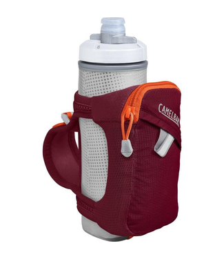 CAMELBAK CAMELBAK QUICK GRIP HH 17 OZ BURGUNDY/HOT CORAL