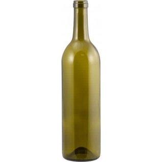 Wine Bottle Green Deep Punt 750ml - Case of 12