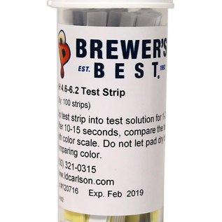 pH Papers Beer Range 4.6-6.2
