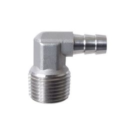 1/2'' mpt X 3/8'' Barb Elbow