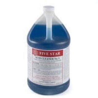 Five Star Acid Cleaner #5 case of 4