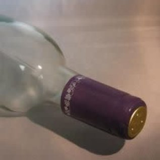 Purple/Silver Grape PVC shrink