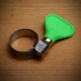 Hose Clamp, Easy-Turn 3/4'' (Green)