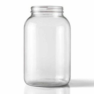 Glass Jar wide mouth