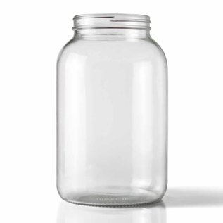 Glass Jar wide mouth