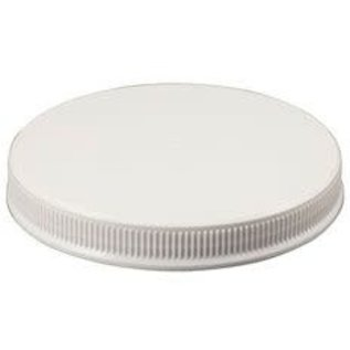 Plastic lid for wide mouth jar
