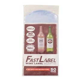 Label sleeves for 22oz or 750ml