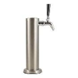 Tower with faucet