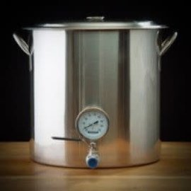 Brew Pot w Thermometer & Valve