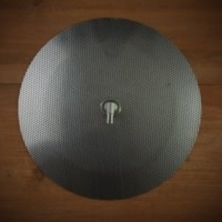 Domed False Bottom 9in w/elbow