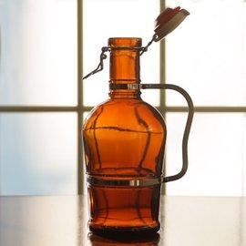 2 Liter Growler W/Metal  Handle
