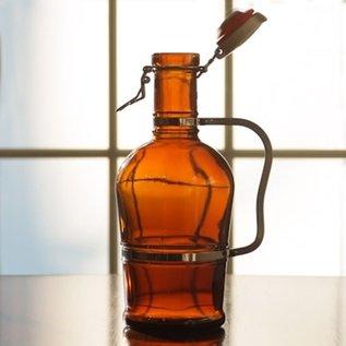 2 Liter Growler W/Metal  Handle