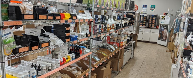 Store Chemical Shelf