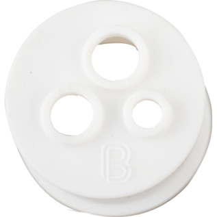 BrewBuilt 3 hole Stopper for Glass Carboy