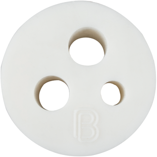 BrewBuilt 3 hole Stopper for PET Carboy