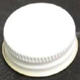White Metal Screw Caps - 38mm